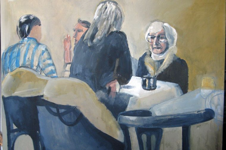 Cafe Music 3  80 x 100 cm, 2009 (ups)