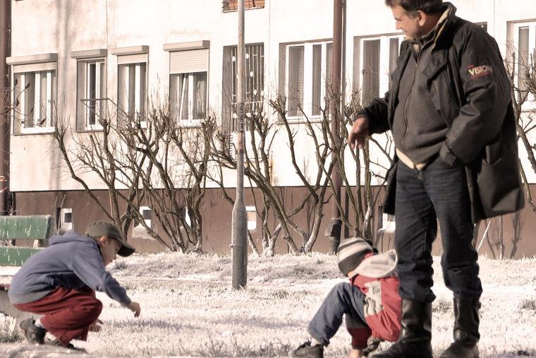 80 milionow, movie set  Wrocław, Poland, 2010