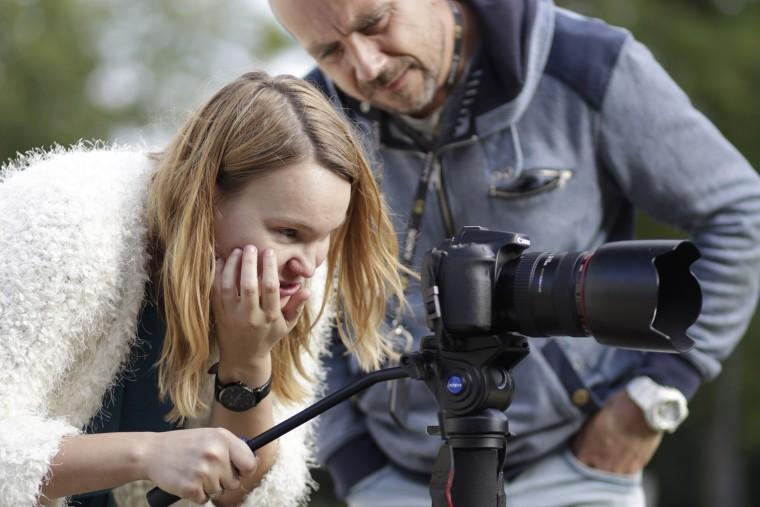 Ania, 2016 @ ABC Filmowania Workshop with Paweł Karpiński photo: Bartosz Milewski